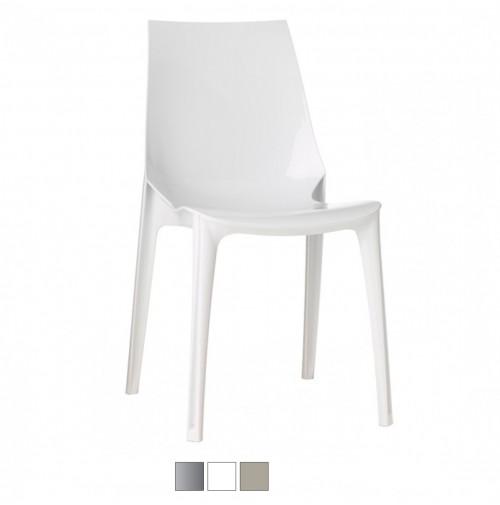 VANITY CHAIR sedia in policarbonato