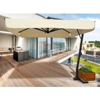 VENERE ombrellone Acrilico 100% colorato/bianco