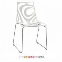 WAVE sedia struttura a slitta